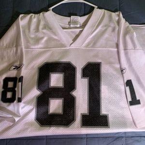 Football Jersey, Oakland Raiders, Tim Brown, 2X